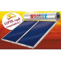 Assos Solarnet SOL 120/2τμ Glass Επιλεκτικός Διπλής Ενέργειας